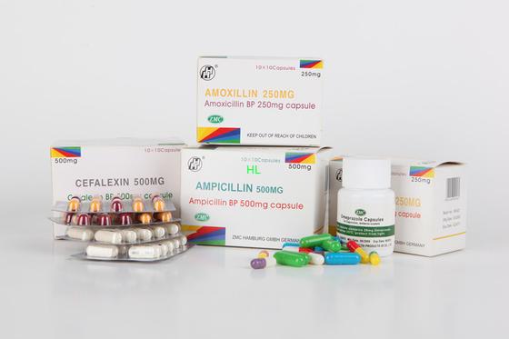 中国 Ampicillin は 250MG 500MG BP/USP のペニシリンの薬を要約します 代理店