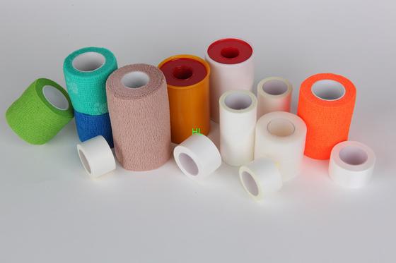 中国 酸化亜鉛の付着力プラスター医学の包帯テープ 5m 10m 長さ 代理店